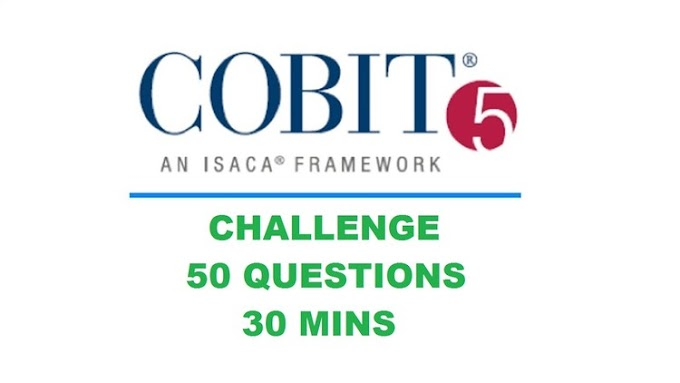 [100% Off UDEMY Coupon] - COBIT v5 Challenge! 50 Questions in 30 Mins!