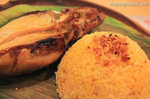 Petso P99 and Garlic Rice P33