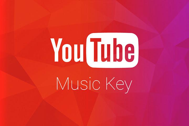 youtube music key sortie