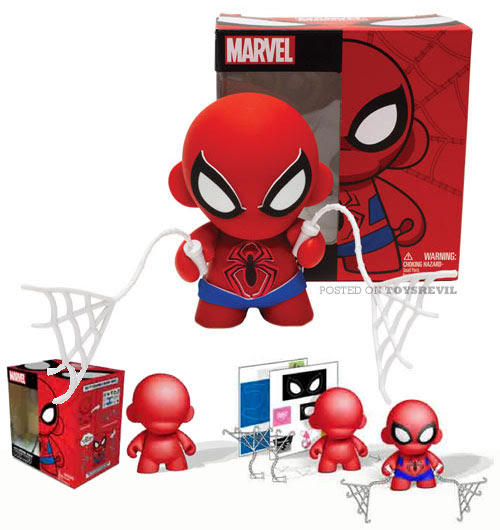 MARVEL-MINI-MUNNY-SPIDER-MAN