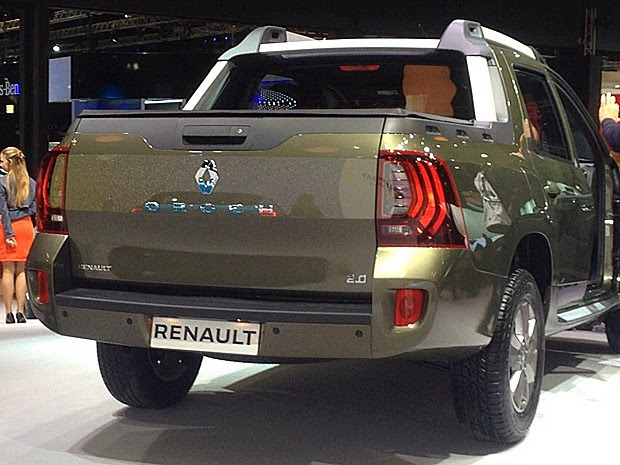 Renault Duster Oroch (Foto: Rafael Miotto/G1)