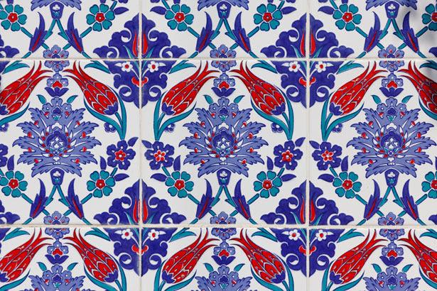 Porzione del pattern orientali