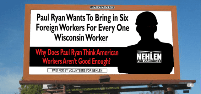 Nehlen workers billboard
