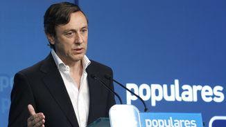 El portaveu del PP al Congrés, Rafael Hernando (EFE)