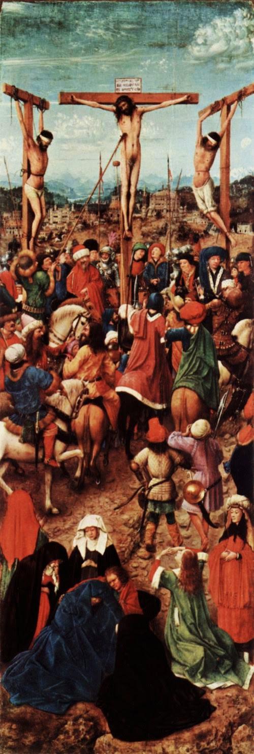 Jan van Eyck, Kreuzigung