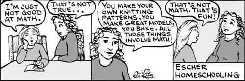 Home Spun comic strip #542
