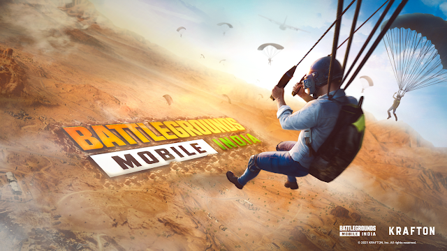 Battlegrounds Mobile India (BGMI) APK and OBB File download links Android device के लिए