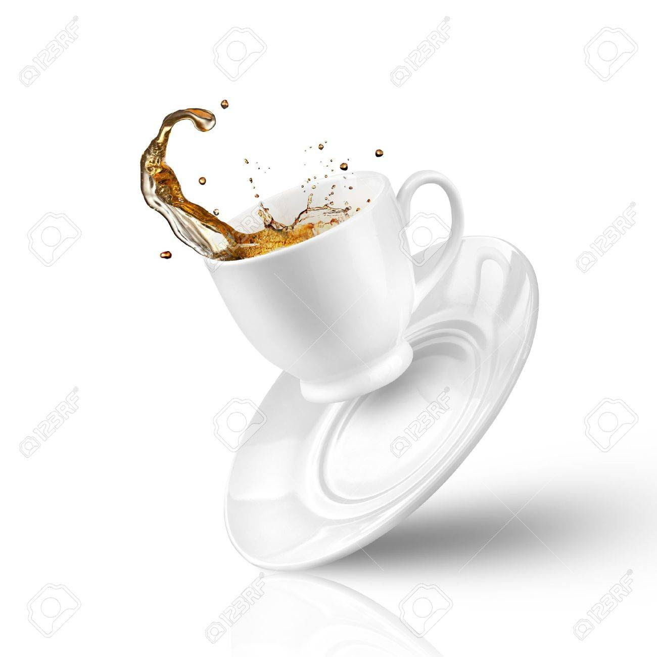 Image result for a cup of tea spills