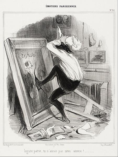 File:Honoré Daumier - Ingrat patrie, tu n'auras pas mon oeuvre!... - Google Art Project.jpg