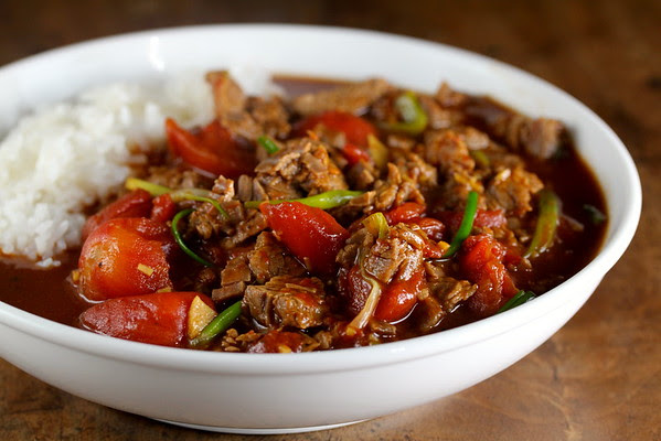 Stir-Fried Ginger Tomato Beef | Wok Wednesdays