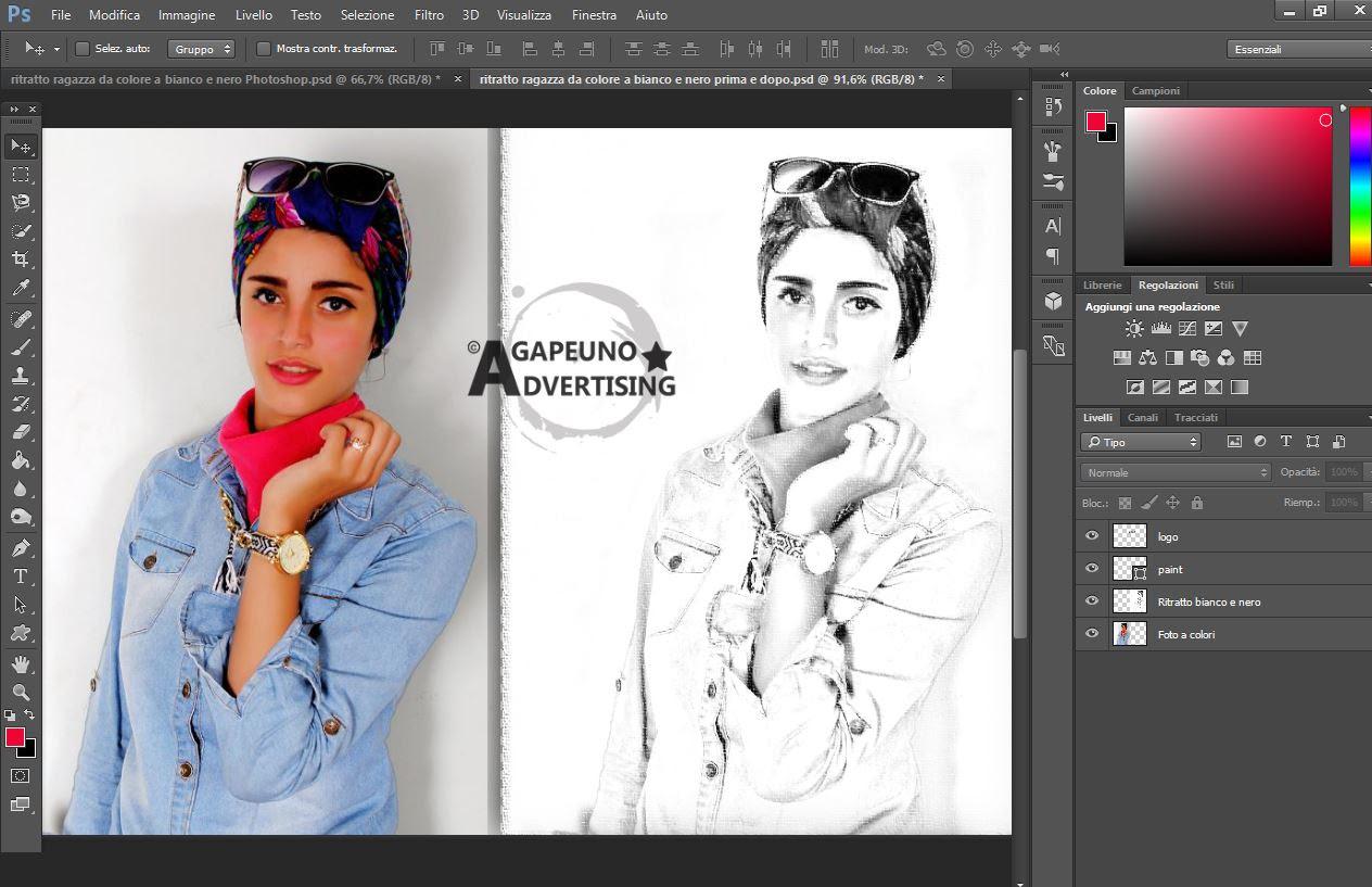 Software Di Plugin Per Photoshop In Bianco E Nero