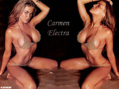 carmen electra undressed