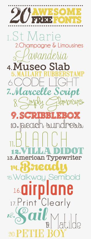 Sea Salt Web free fonts