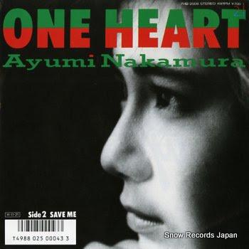 NAKAMURA, AYUMI one heart