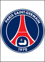 Logo Paris Saint Germain Football Club à Imprimer Coloriage à