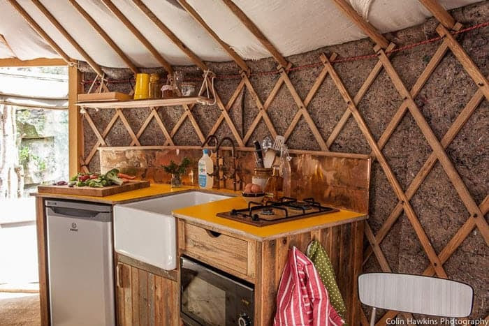 Hand-Built Yurt Provides A Luxurious Forested Escape For ...