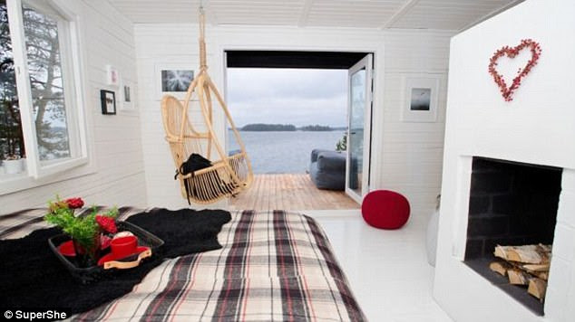 Girls allowed: The island retreat in the Baltic Sea is for women only - at least for the time being