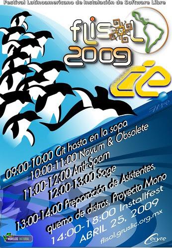 poster-flisol2009-cie-morelos