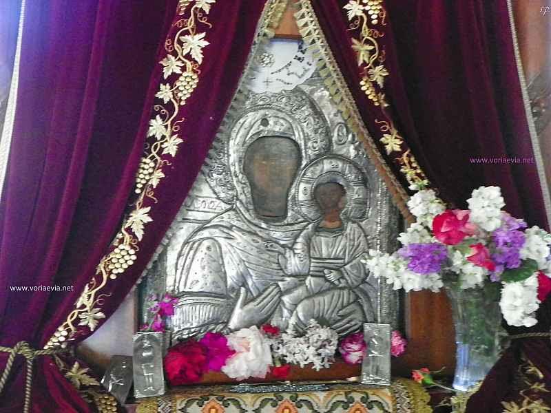 Αποτέλεσμα εικόνας για Ιερά εικόνα της Παναγίας 'Ντινιούς'
