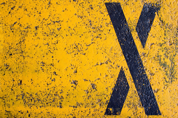 Big X: An X on the asphalt in a parking lot. I may reshoot this sometime in the future, I was less than happy with the lighting.Please do not download these images and post them on other microstock sites as your own work. Photos on RGBStock are NOT copyright free