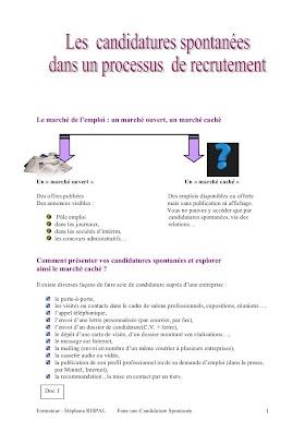 Modèle Lettre De Candidature / Modèle de lettre : Réponse négative à une candidature ...