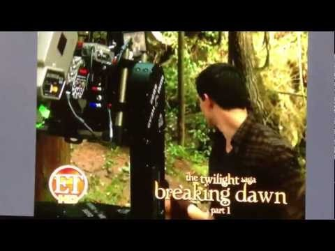 Breaking Dawn (Amanecer) Exclusive Footage ET