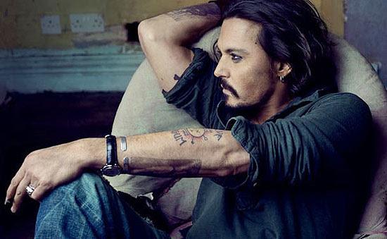 O ator Johnny Depp