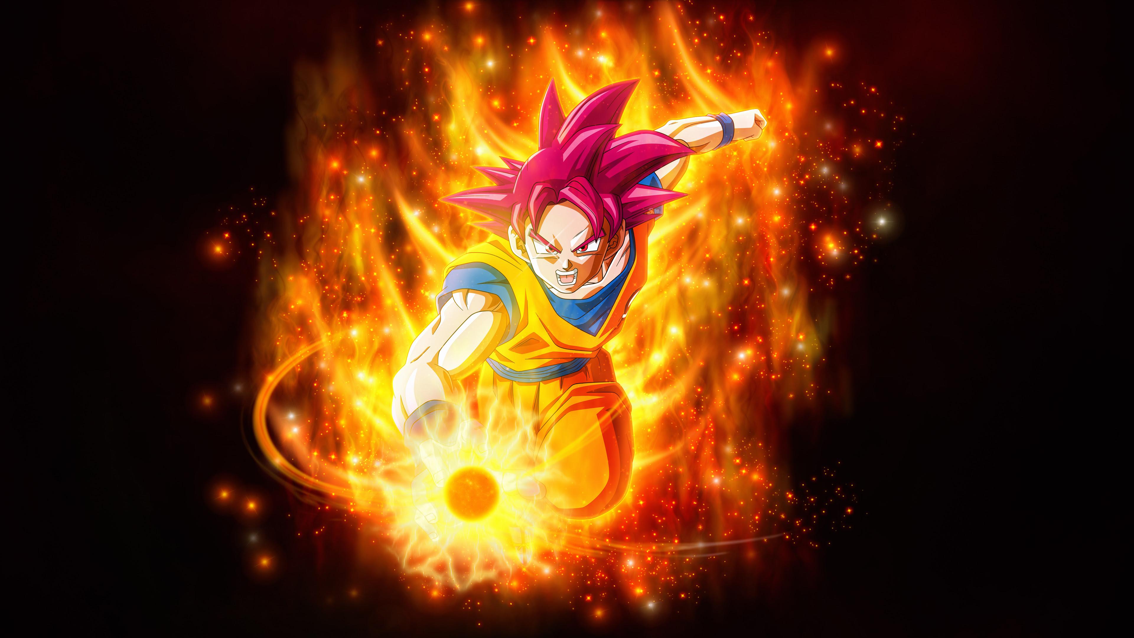 Super Saiyan God Dragon Ball Super Super 4k Wallpapers Wallpapers Hd
