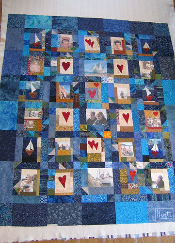 quilt put together :: teppet lagt klart