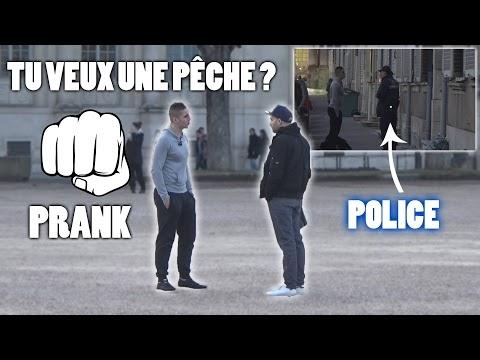TU VEUX UNE PECHE ?! Prank Police