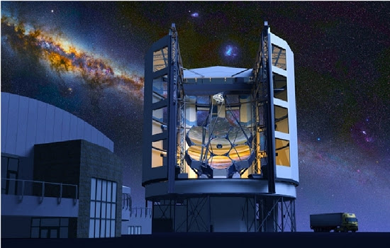 Telescópio Cherenkov quer desvendar luzes de altíssima energia