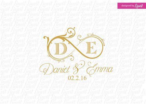 Luxury Wedding Logo, wedding logo, premade wedding logo