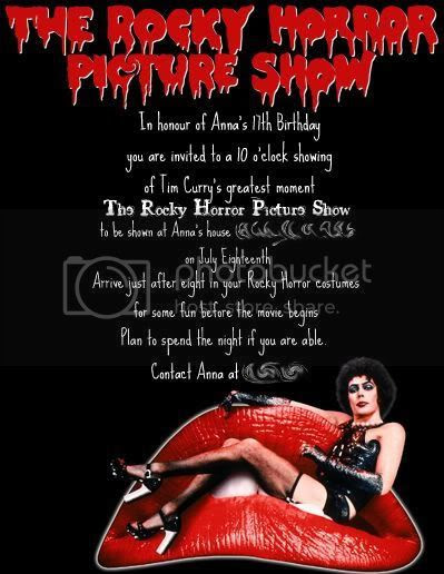 A Rocky Horror Birthday Extravaganza Occasions And Holidays