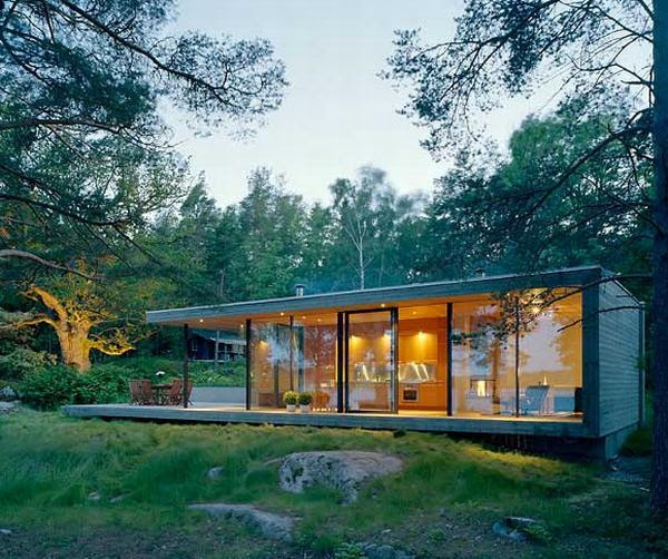 cottage style design 8 Private Summer House in Sweden