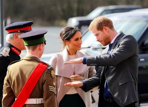 Prince Harry and Meghan Markle in Belfast and analyzing