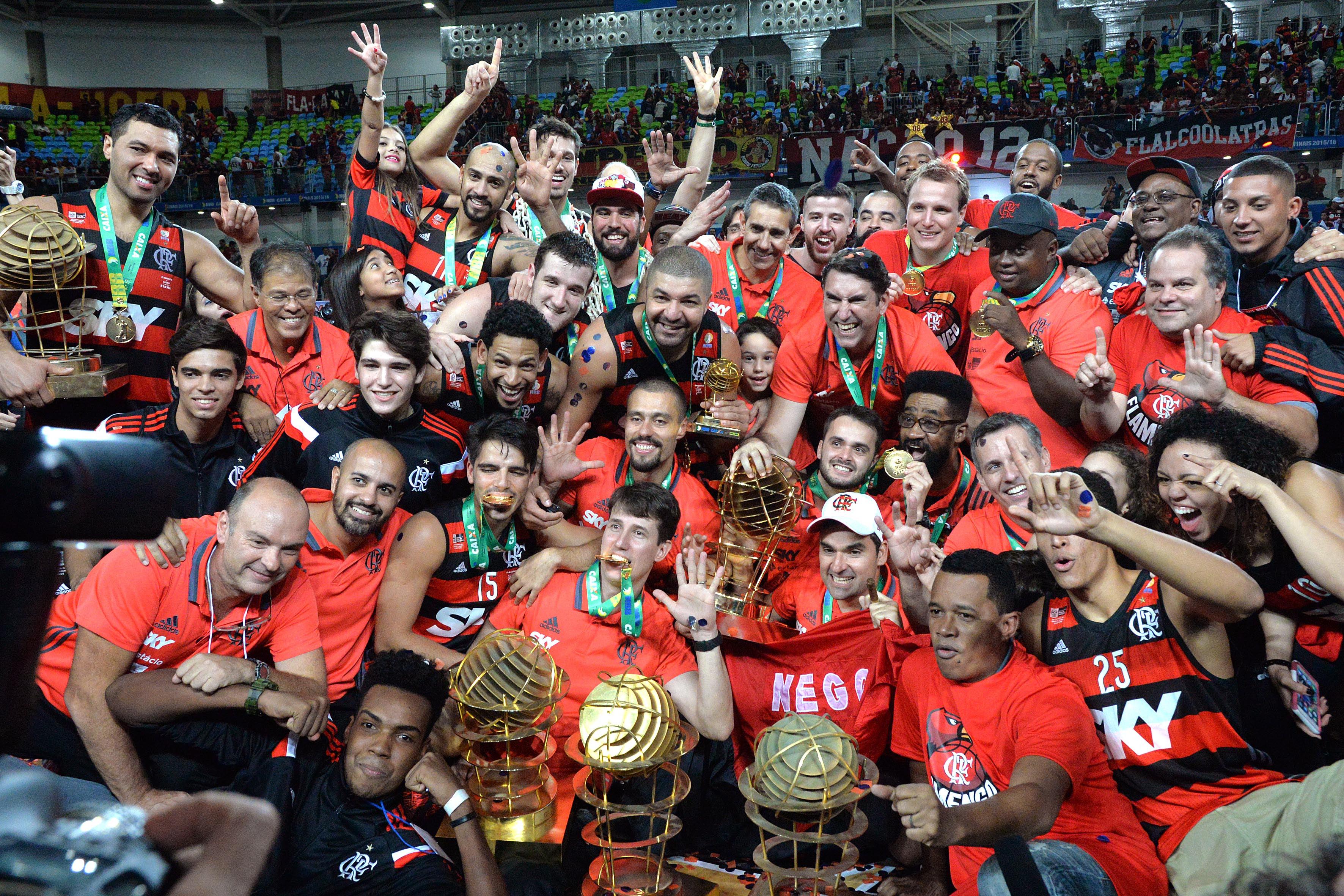 Flamengo é o Primeiro Penta Campeão do NBB