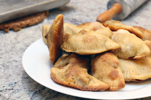 Grilled empanadas