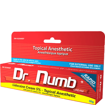 Topical Anesthetic Dr Numb Eye Design New York