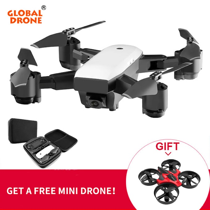 Global Drone GPS Quadrocopter Long Time Flying Hovering Wifi FPV Foldable Drones With Camera HD Dron