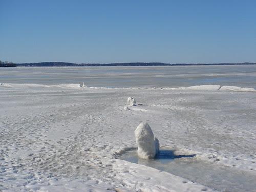 Lake Mendota in March