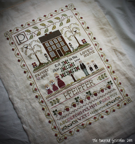 Little House Needleworks - Family Sampler (slant)
