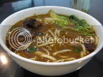 Sweet-sour pork rib noodles