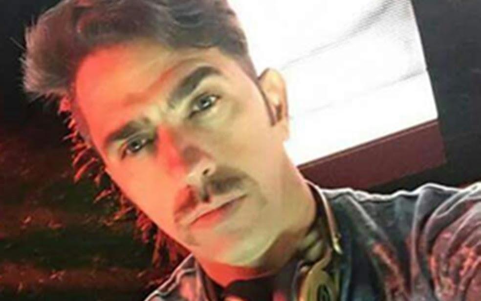 Elpídio Quirino Filho, o DJ Quirino, foi morto a tiros, em Goânia (Foto: Reprodução/TV Anhanguera)