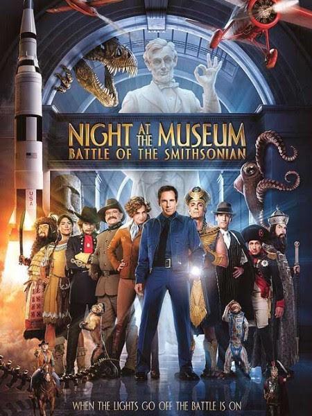 Đêm ở viện bảo tàng 2: Trận chiến hoàng gia (Đêm kinh hoàng 2) - Night at the Museum: Battle of the Smithsonian