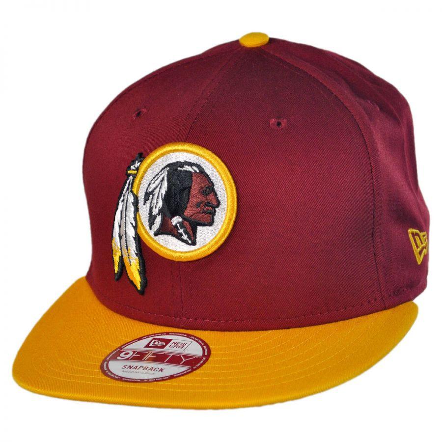 New Era Washington Redskins NFL 9Fifty Snapback Baseball Cap NFL Football Caps