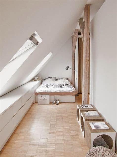 dachschraege deko schlafzimmer