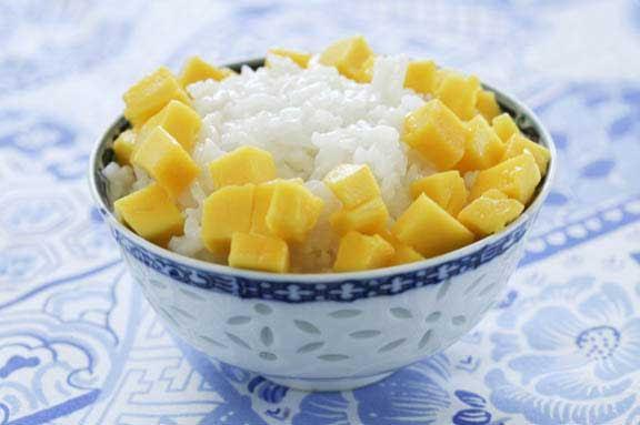 Sweet Sticky Rice with Mango - Viking Range, LLC