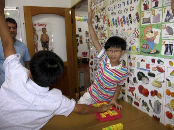 classrooms teaching english