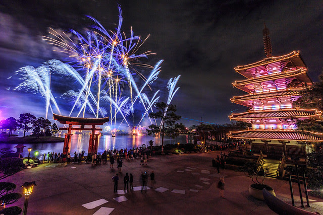 Fireworks Friday:  IllumiNations Over Japan