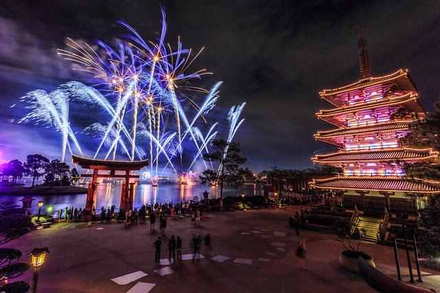 Fireworks Friday:  IllumiNations Over Japan